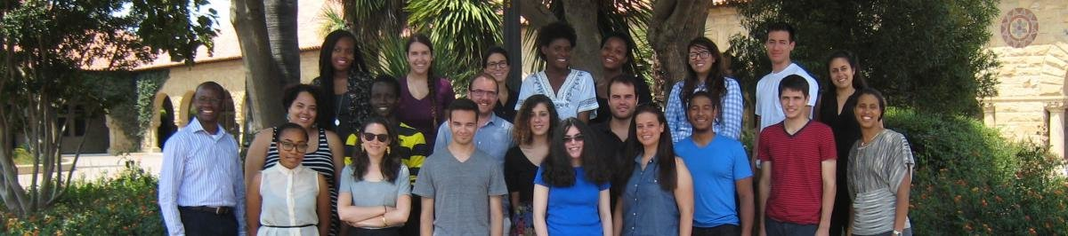 Stanford summer research program participants